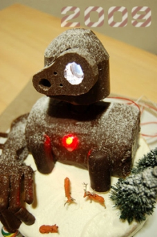 ロボット兵ケーキ