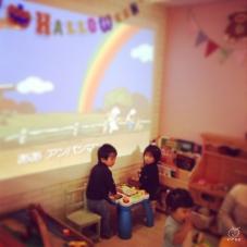 子どもが遊んでいる様子を横目に見ながら、ゆっくりできます。ママさんには嬉しいお店。
