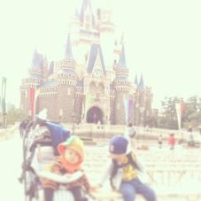 城好きなので、シンデレラ城も好きです。