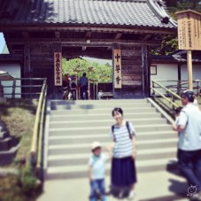 中尊寺の本堂。