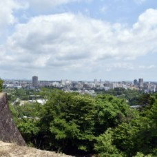 仙台市内一望できます。仙台も広いです。