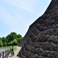 帰りは歩いて、仙台市博物館を横目に。月曜は休館で残念です。。。