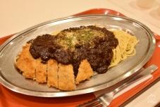 高崎は、パスタの街らしいです。なんかおコゲっぽい変わった味。